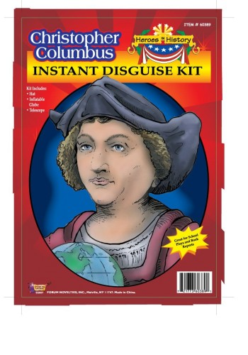 Christopher Columbus instant Disguise Kit