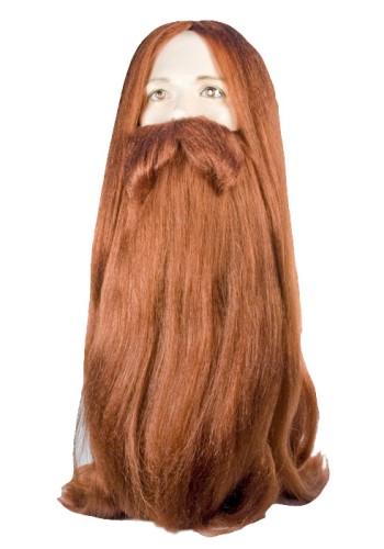 Bargain Viking Wig Set
