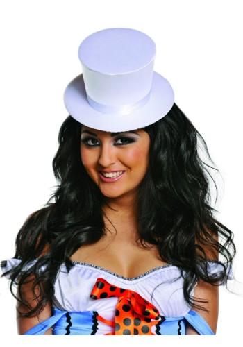 White Top Hat - Satin