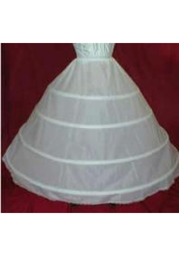 4 Bone Extra Full Hoop Skirt