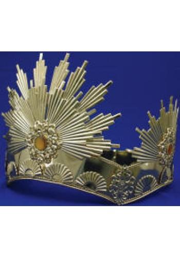 Gold Sunburst Crown