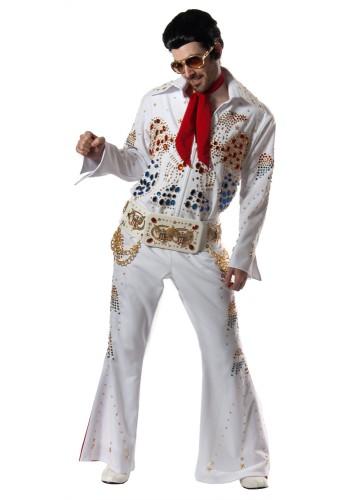 """King"" Rock Star Costume | Elvis Costumes, Elvis Suit, Elvis Jumpsuit, Elvis Presley Costume"