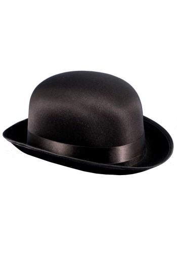 Derby Bowler Hat - Black