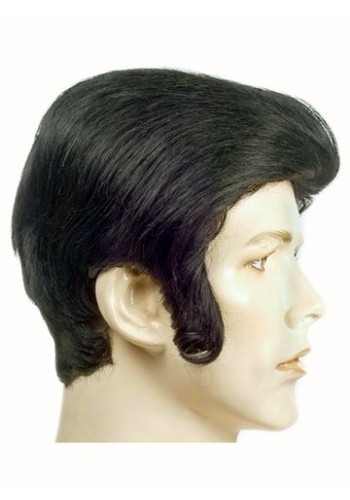Elvis Rock Star Wig 1950's - Elvis wig, Elvis Hair, 1950s Wig, Elvis Presley Wig