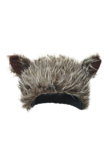 Furry Wolf Ear Hat - Wolf Hat, Animal Hat, Novelty Hat, Silly Hat, Funny Hats