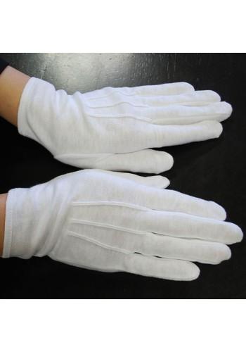 Cotton Glove-Slip On