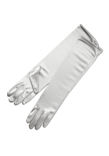Satin Glove - Elbow Length