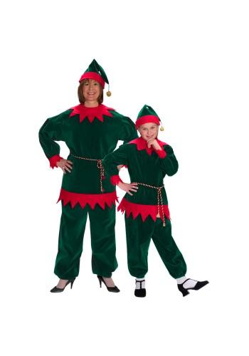 Velvet Elf Suit
