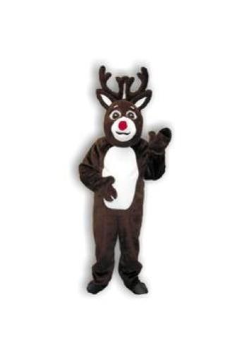 Reindeer Suit with Mascot Head