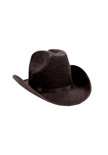 Permalux Tall Texan Cowboy Hat, Black