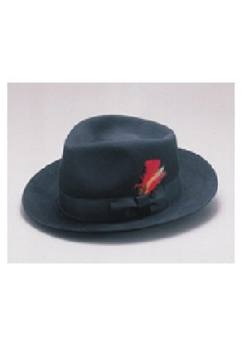 Wool Felt Blues Brothers Fedora Hat
