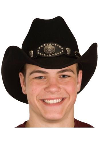 Wool Felt Cowboy Cattleman Hat