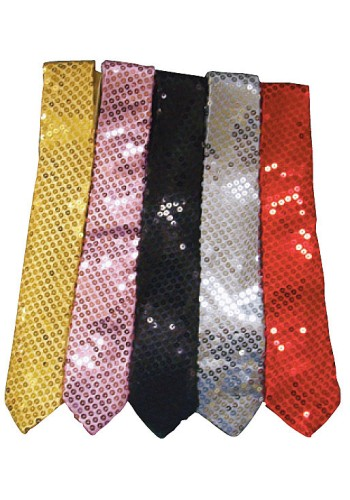 Sequin Ties