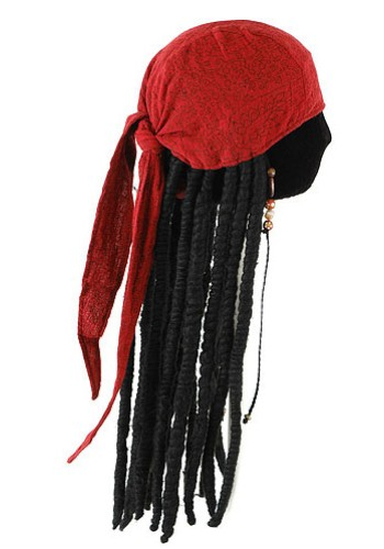 Jack Sparrow Bandana with Dreads