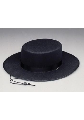 Zorro Spanish Gaucho Hat Permafelt
