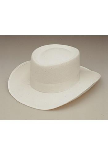 Gambler Hat, White