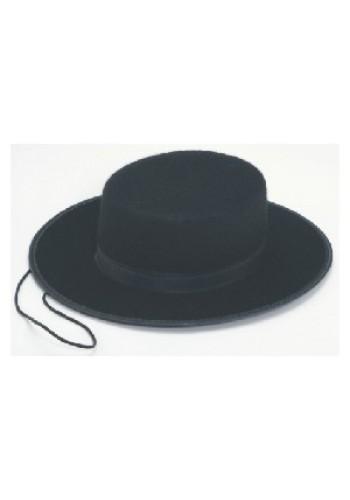 Zorro Spanish Gaucho Hat