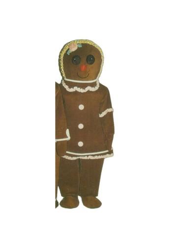 Gingerbread Woman Costume