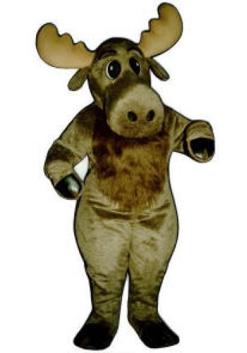 Christmas Moose Mascot Costume