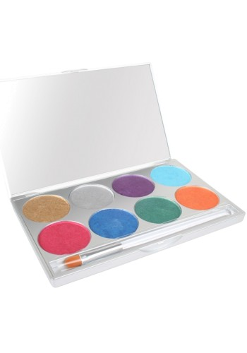 Paradise Makeup AQ 8-Color Palette-Brillant