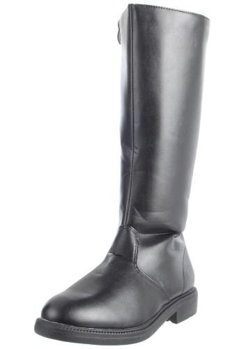 Tall Renaissance Boots - Black