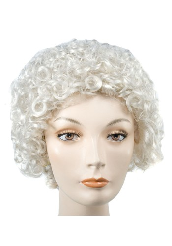 Short Mrs Claus Wig