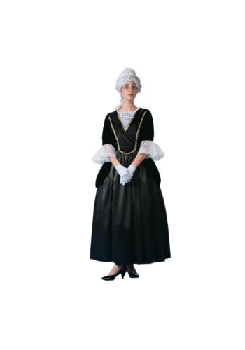 Mrs. Benjamin Franklin Colonial Woman Deluxe Costume