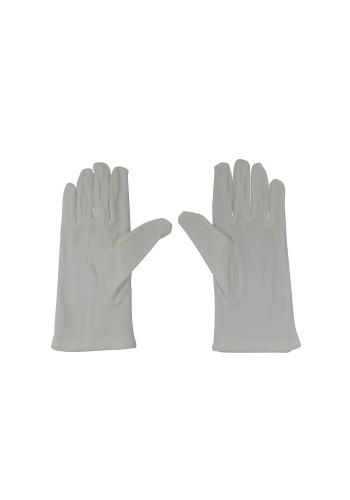 Ladies White Nylon Glove