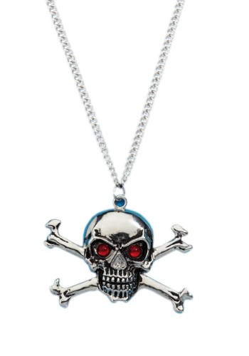 Deluxe Skull & Bones Necklace