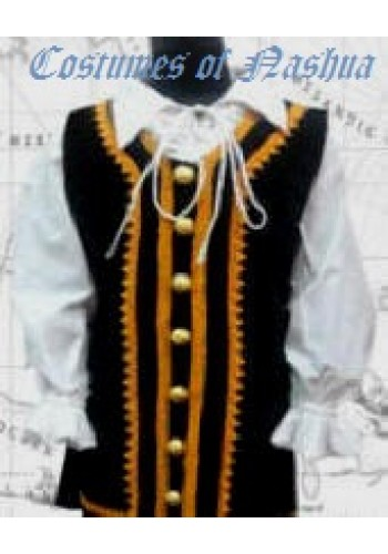 Child's Captain Jack Colonial Vest