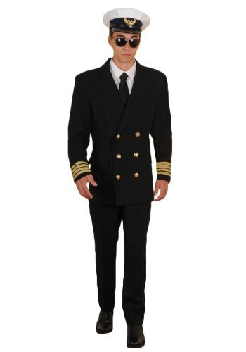 Pilot Costume - Airline Pilot Costume, Mens Pilot Costume, Adult Pilot Costume