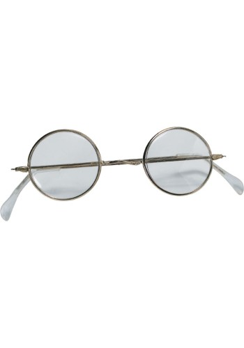 Mrs. Santa Claus Round Glasses