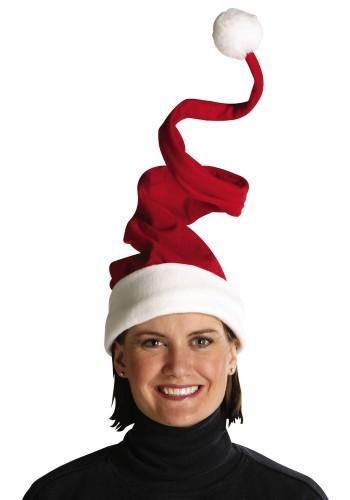 Grinch Hat Wired Santa Hat