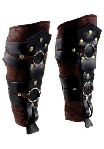 Roman Gladiator Leg Guards - Roman Armor, Roman Costume, Roman Accessories