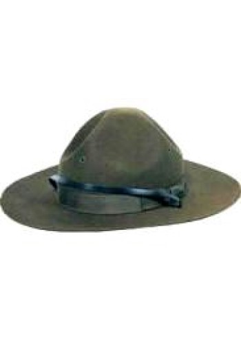 100% Wool WWI Doughboy Hat, Mountie