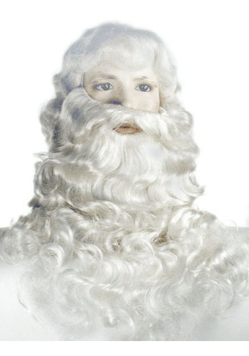 Santa Claus Wig & Beard Set