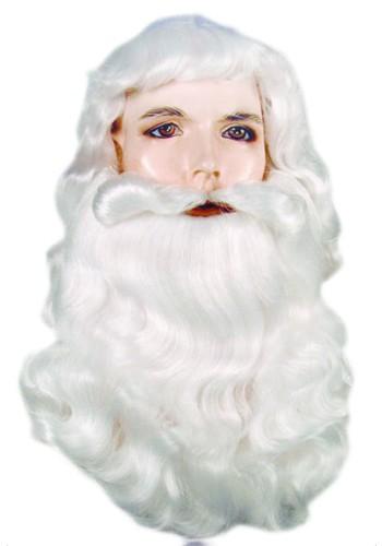 Bargain Santa Wig & Beard Set