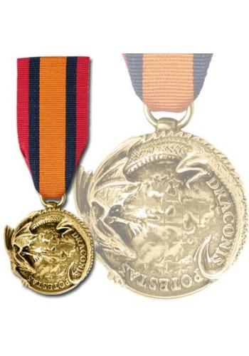 On the Wings of the Dragon Honor Award Medal