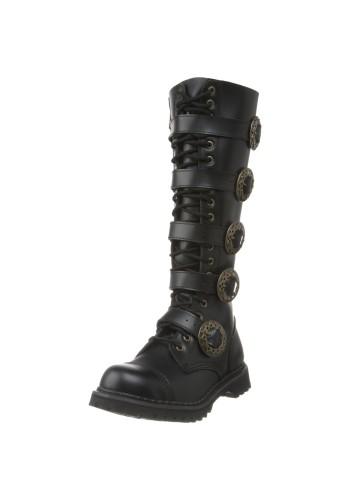Powderhouse Mechanic's Boots - Black
