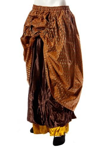 Layered Steampunk Skirt | Steampunk Skirt, Stmeapunk Clothing, Steampunk Costumes, Steampunk Attire