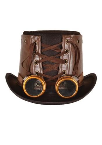 Steampunk Hat W/Goggles