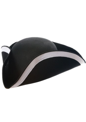Wool Felt Tricorne Hat