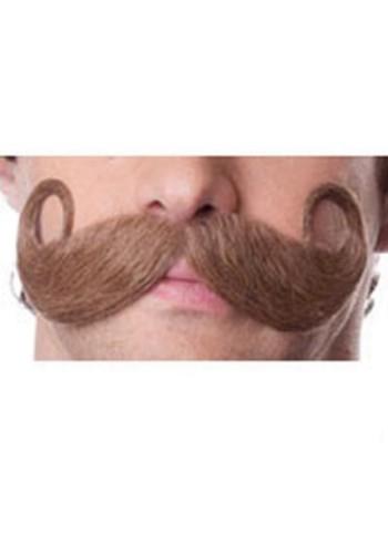 100% Human Hair Mustache