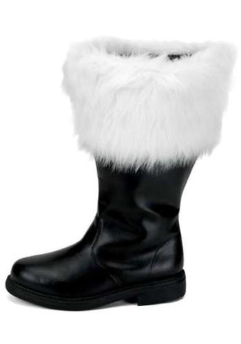 Santa Claus Boot Men's - Wide Calf | Santa Boot, Santa Shoes, Santa Claus Boots, Santa's Boot