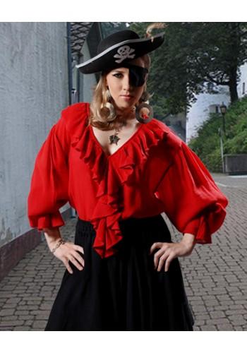 Barbarossa Pirate Lady Blouse - Adult Pirate Costumes, Pirate Shirts, Womens Pirate Costume