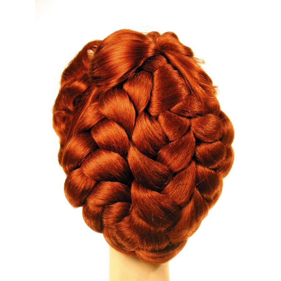 Red Victorian Wig 65