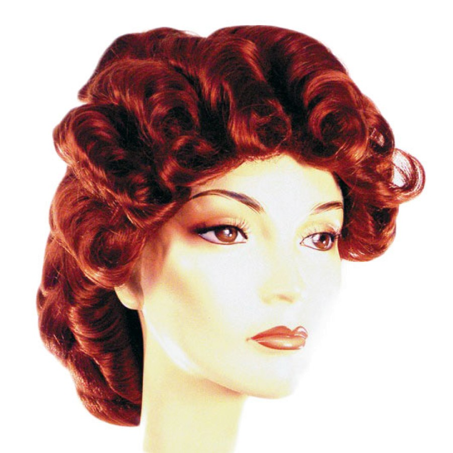 Red Victorian Wig 26
