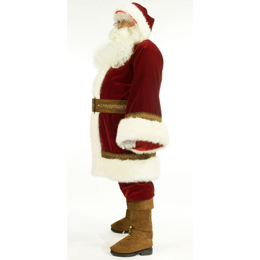 old time santa claus suit costume