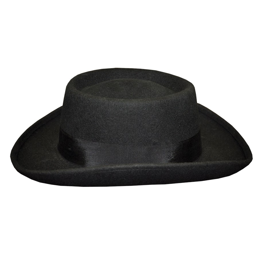 95536e34a0e12 ... usa rhett butler wool felt hat southern gentleman planter hat 0d21c  c0f30