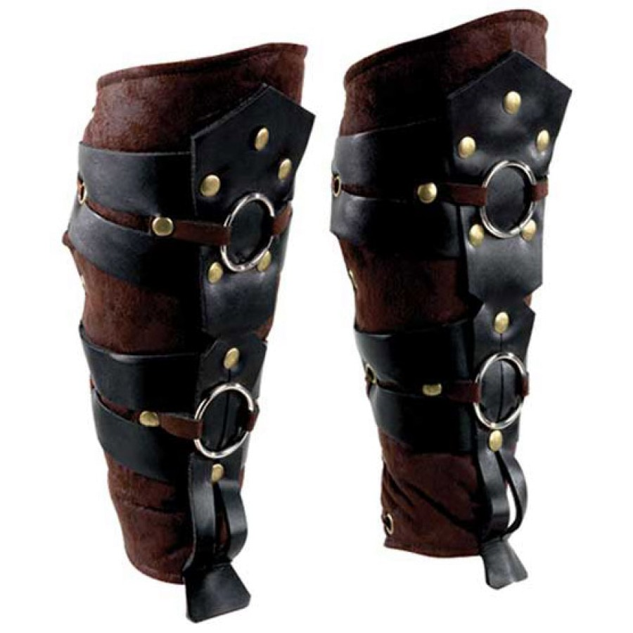 Roman Gladiator Leg Guards - Roman Armor Roman Costume Roman Accessories  sc 1 st  Costumes of Nashua Costumes of Nashua : leather gladiator costume  - Germanpascual.Com